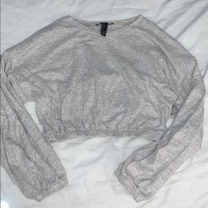 Beige Ultra Soft Cropped Sweater